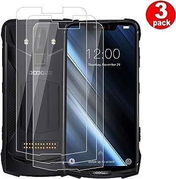 QFSM 3 Pack Película Protectora para DOOGEE S90, Resistente al Desgaste Protector de Pantalla para teléfono móvil Vidrio Templado: Amazon.es: Electrónica