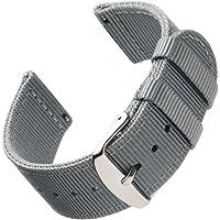 Archer Watch Straps - Vervangende Quick Release Horlogebanden van Hoogwaardig Nylon voor Dames en Heren, Horloges en…