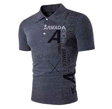 Camisas Polo Hombres Hombres Verano Negocio Top Fashion Mode De ...