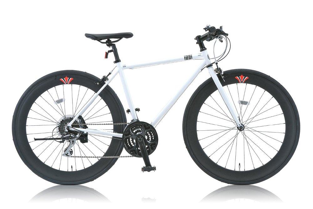 DP780(ディーピー780) 700Cクロスバイク シマノ24段変速 ディープリム DP-724L(510mm) WHITE (2015) B00W9O46QY