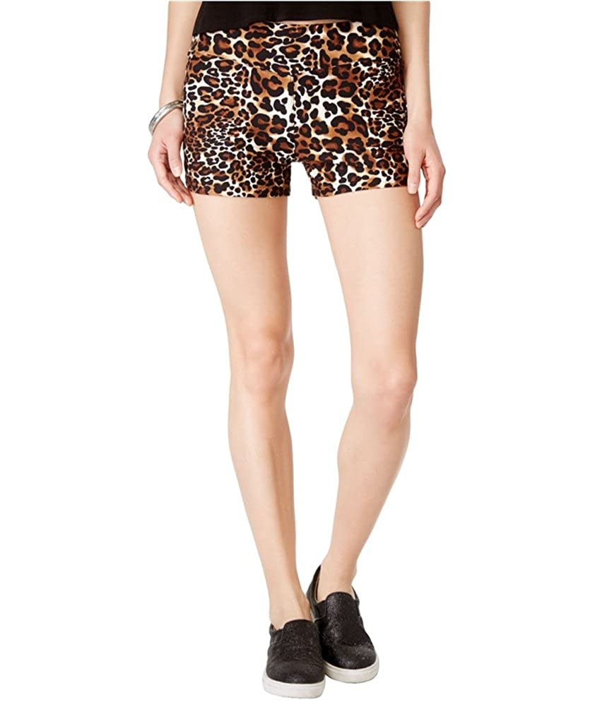 Hot Kiss Womens Active Cheetah Mini Athletic Shorts BTS1317MC