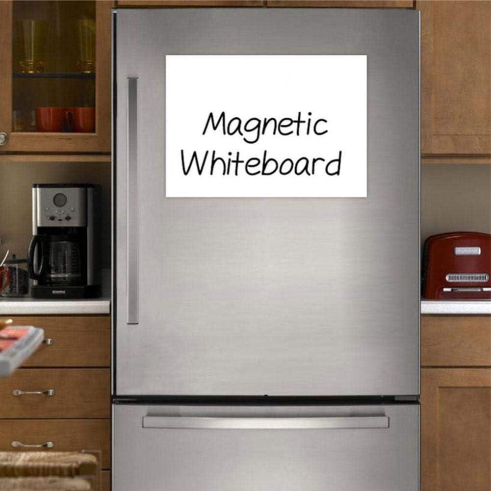 Whiteboard-Aufkleber für Kühlschrank und Kühlschrank. Kleine