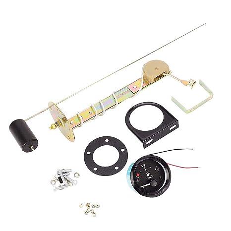 Semoic 52Mm Sensor Universal de Combustible para Coche Negro Indicador de Nivel de Flotador de Nivel