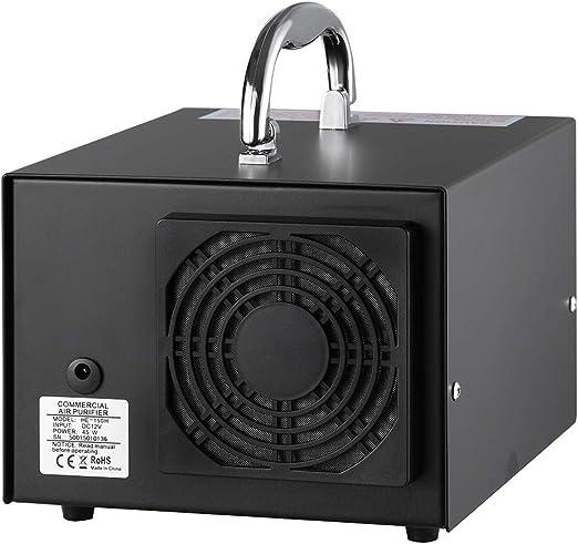 Generador De Ozono Comercial 3500 Mg/H Purificador De Aire Profesional O3, Ozonizador E Ionizador, Desodorizador Y Esterilizador El Para El Control De La Parada Del ...