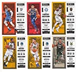 2017-18 Panini Contenders Season Ticket Set of 100 Cards (Veterans Set)