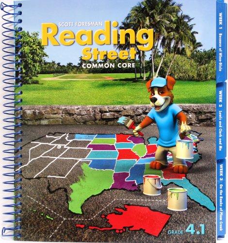 Reading Street Common Core 2013 Teachers Edition Fourth Grade 4.1