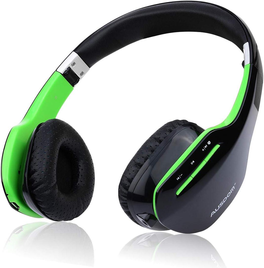Bluetooth Headphones, AUSDOM M07S Bluetooth Wireless Stereo Headphone Foldable Over-ear Headsets For TV, Phone, PC
