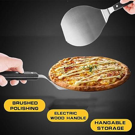Pala Pizza Paddle Round Cake Pala Herramientas para Hornear Grip ...