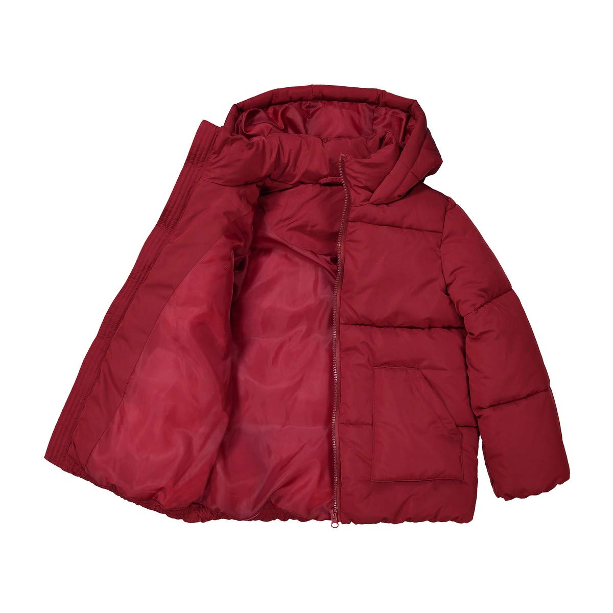 3-12 Years La Redoute Collections Big Girls Long Warm Hooded Padded Jacket