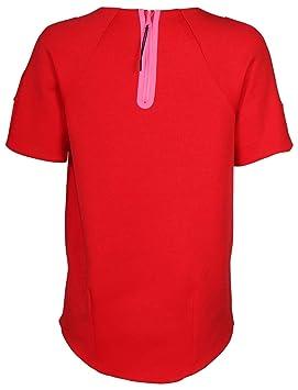 Flc Shirt Ss T Tch Courtes Tgs Nike Manches Caramote Knt Nsw Femme W zUVMqSp