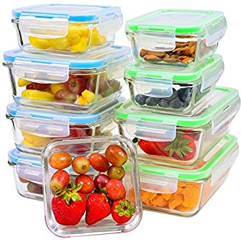 In Many Styles Glass Food Storage Containers Ai.. 13-pack Glass Storage Containers With Lids