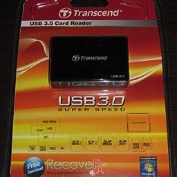 Transcend RDF9 - Lector de Tarjetas, conector USB tipo A, ranura ...