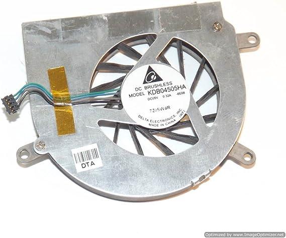 KDB04505HA - Ventilador de CPU para Apple MacBook Pro de 17