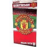 Manchester United F.C. Birthday Card Stadium Official Merchandise