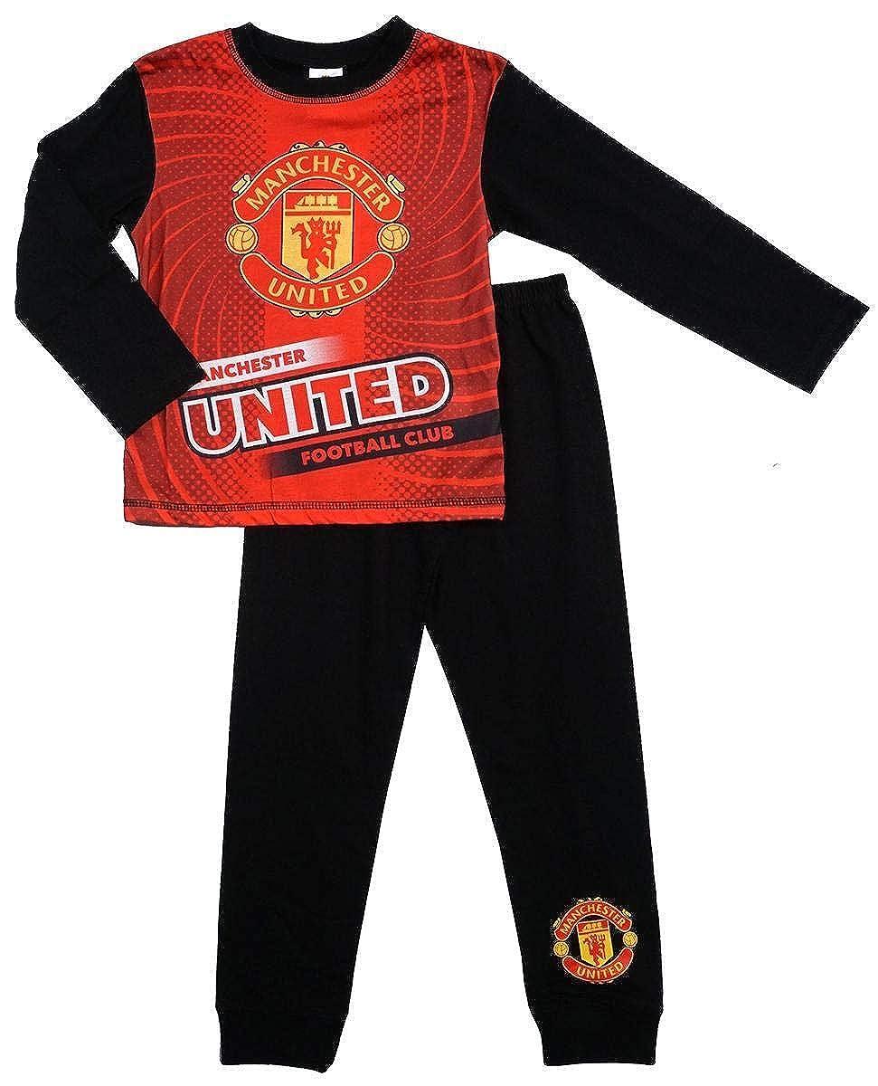 Boys Manchester United Pyjamas Size 2 Years to 12 Years