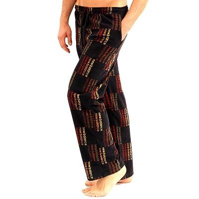 New Balance Men's Micro - Fleece Pajama Lounge Sleep Pants: Sports & Outdoors