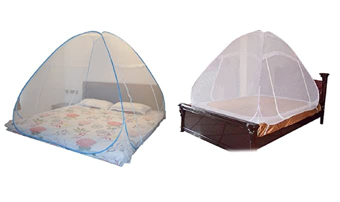 Mosquito Net For Double Bed Combo Pack of 2