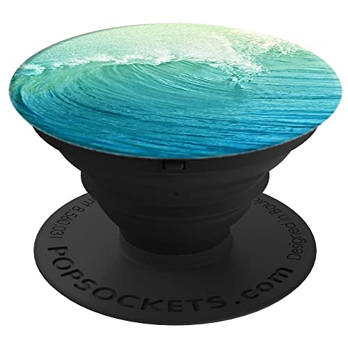 PopSockets Expanding Grip Case with Stand for Smartphones and Tablets - Wave