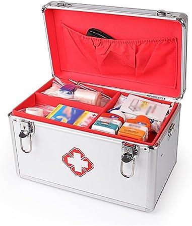 Caja De Ambulancia Médica Grande Caja Médica Casera Portátil Caja De Clínica De Primeros Auxilios Caja