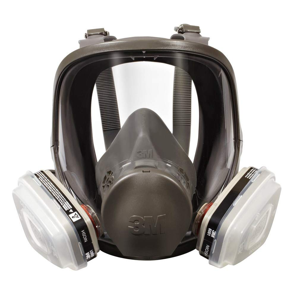 Image of 3M 07163 Full Facepiece Respirator Packout Organic Vapor P95, Large Home Improvements