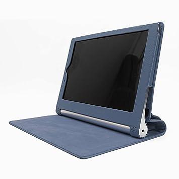 Premium funda de cuero con soporte Modo de Suspensión Para Lenovo Yoga Tablet2 10 (NOT fit Lenovo IdeaPad Yoga Tablet 10, 1st Gen or Lenovo IdeaPad ...