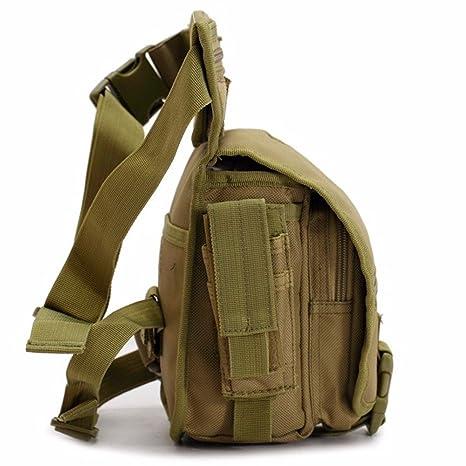 9b2348231 Garumi Piernera Tactica Estilo Militar Color Cafe: Amazon.com.mx: Deportes  y Aire Libre