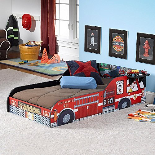 Russell Children Products Fire Truck Toddler Bed