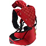 Jhua 360 Ergonomic Baby Carrier with Sling Soft Hip Seat, Airflow Child Baby Carrier Backpack for Infants Toddler, Adjustable Waistband Baby Waist Stool Baby Sling Wrap, 10 Positions, Baby Shower Gift