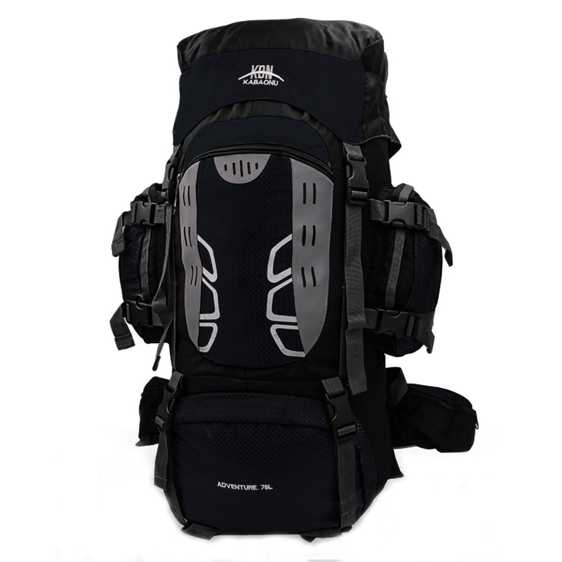 3f8d36800da8 Amazon.com   Mooedcoe 75L Internal Frame Hiking Backpack for Outdoor  Camping Travel Backpacking Backpack for Men (Black)   Sports   Outdoors