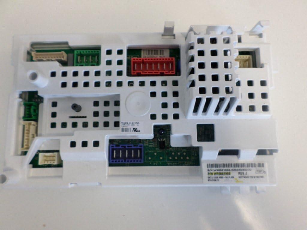 Whirlpool W10581558 Washer Electronic Control Board Genuine Original Equipment Manufacturer (OEM) Part