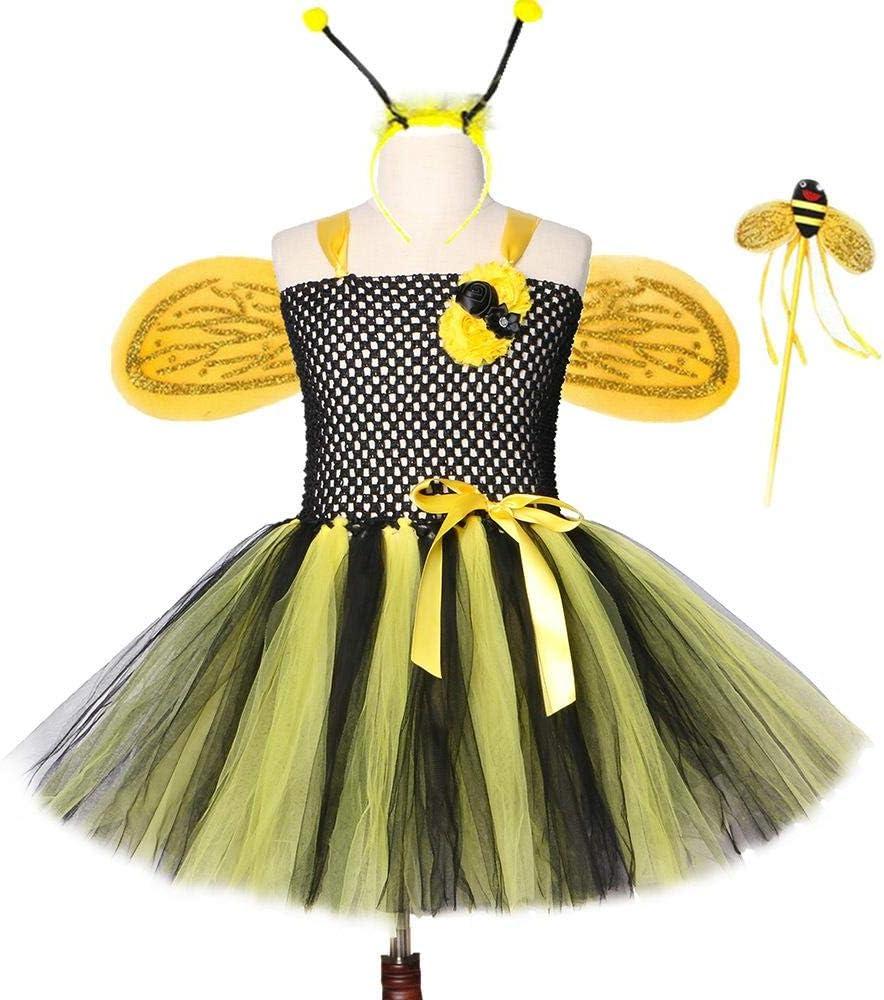 Conjunto de Vestido de Abeja para niños Faldas para niñas ...
