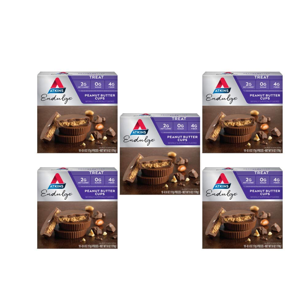 Atkins Endulge Treat, Peanut Butter Cups, Keto Friendly, 50 Count by Atkins (Image #1)