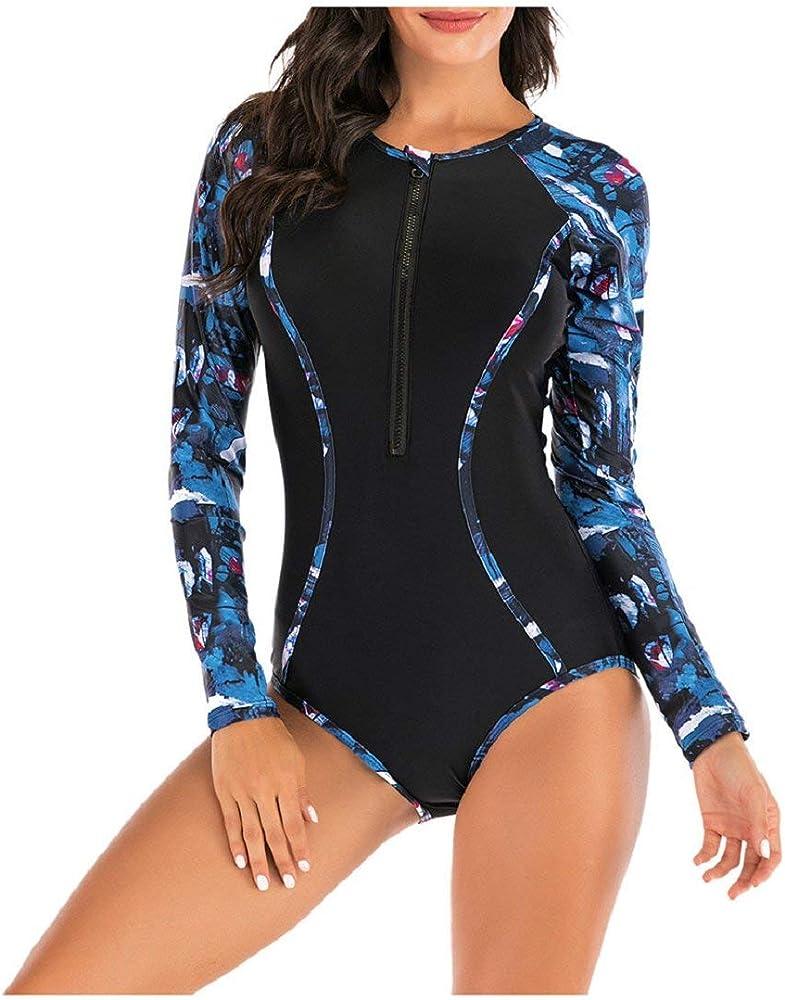 DEELIN Trajes de baño para Mujeres Bikini Trikini Ropa de baño bañadores una Pieza Imprimir Parche Traje de baño Swimsuit Beachwear Ropa de Playa: Amazon.es: Ropa y accesorios
