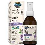 Garden of Life mykind Organics Sleep Well R&R Spray (58 mL) Liquid - Relax & Rest, Green Tea Extract L-Theanine, Chamomile, L