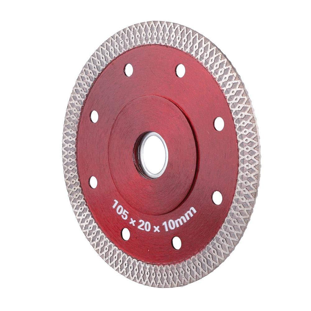 Disco de corte de diamante Liukouu 105 mm Sierra de metal para baldosas de cer/ámica Microlite