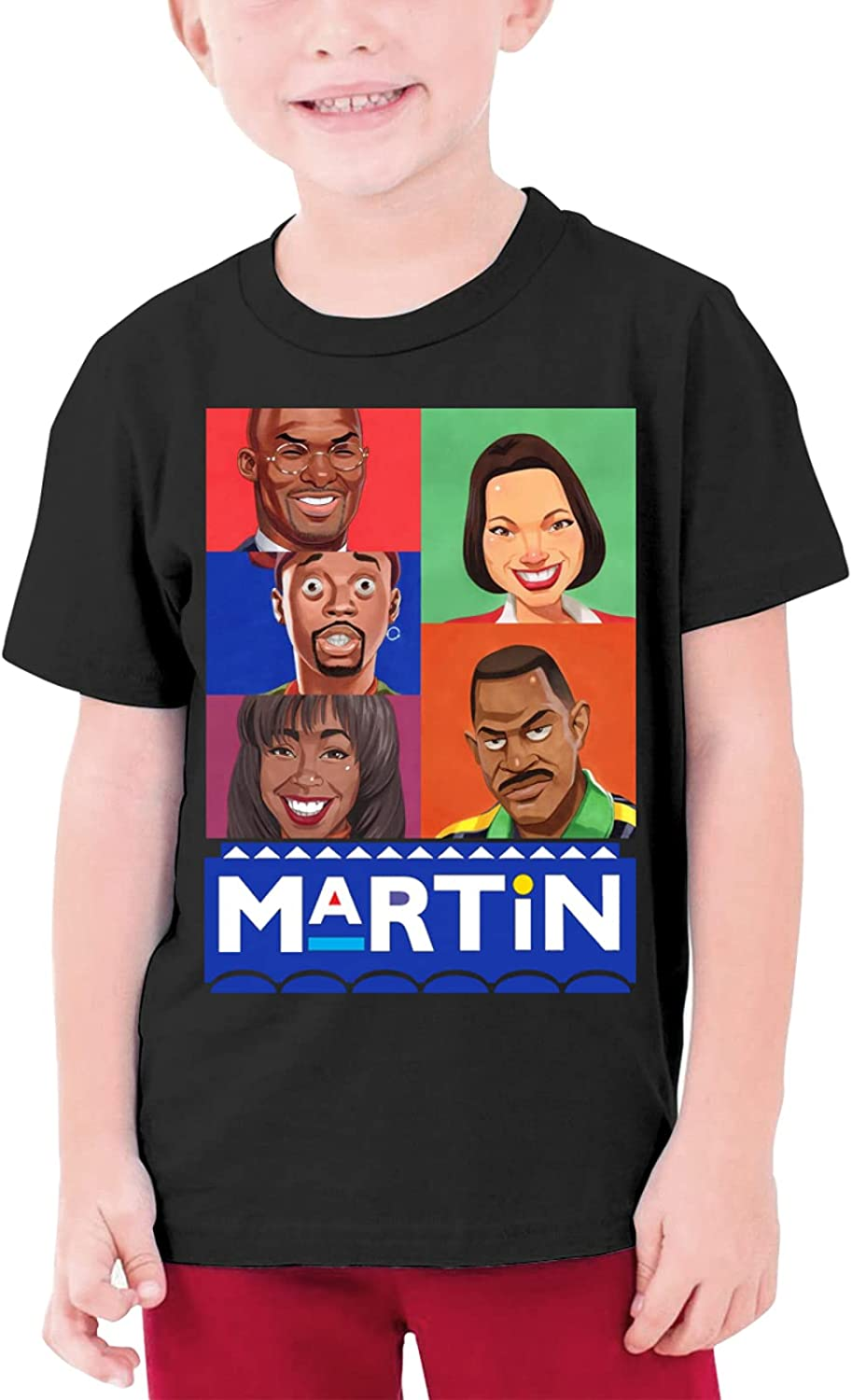 Teen Martin-Lawrence Short-Sleeved T-Shirts are Stylish and Comfortable
