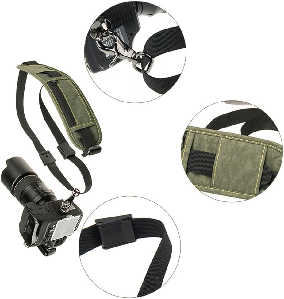 Zhhlinyuan Military Strap SLR Camera Vacuum Decompression 5d3 Belt The Best Gifts