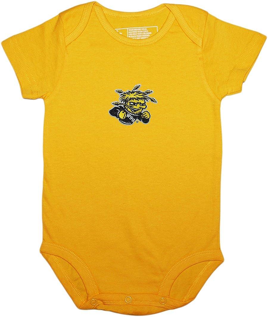 Creative Knitwear Wichita State University WuShock Baby Bodysuit