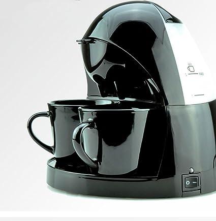 DSYLD Máquina de café súper automática Cafetera térmica de 5 Tazas Cafetera portátil compacta programable para