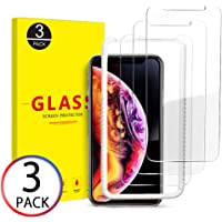 3-Pack Ouluoqi Tempered Glass Screen Protector for 6.5