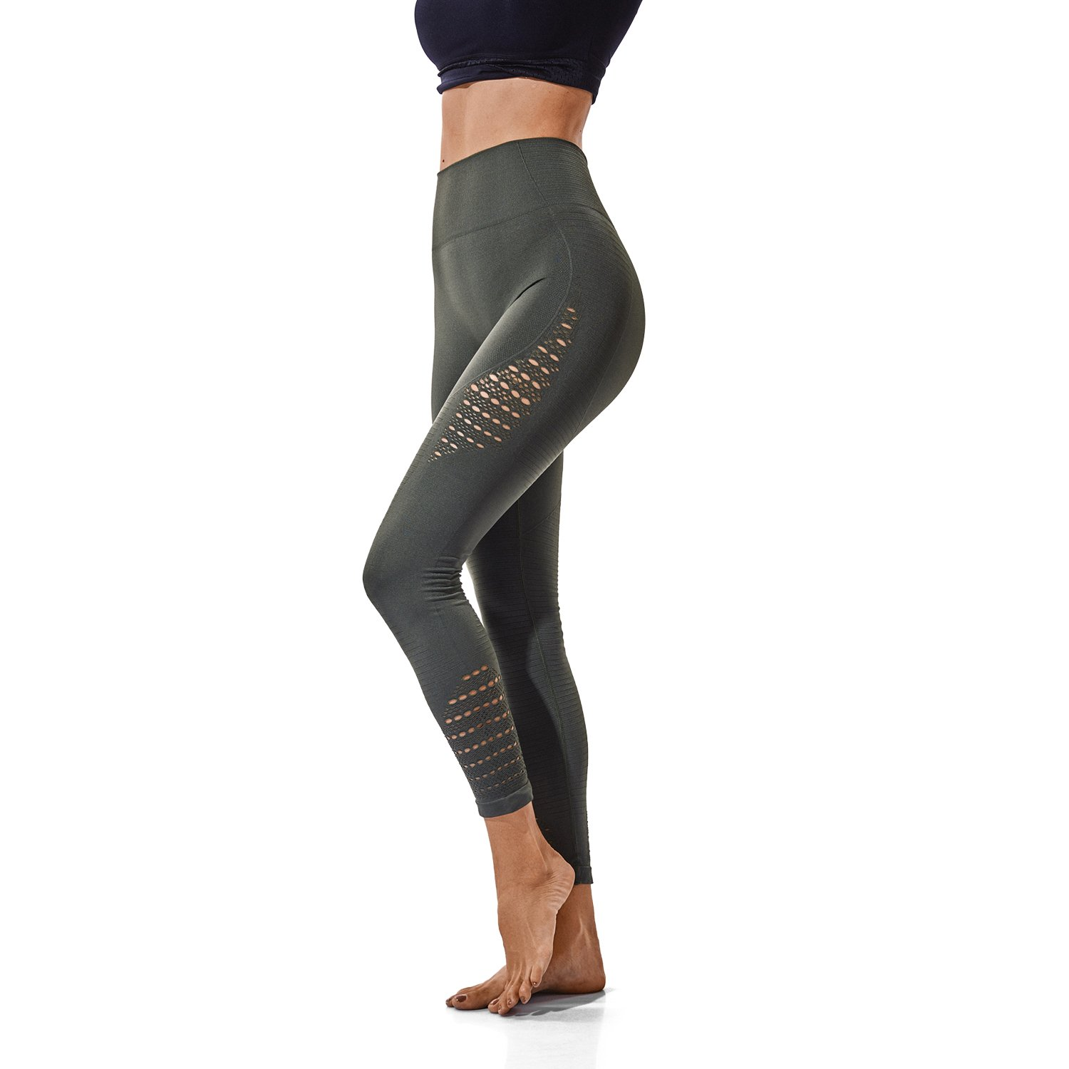 4e729af33749c6 FITTOO High Waisted Seamless Yoga Pants Gym Workout Leggings for Women  Tummy Control at Amazon Women's Clothing store: