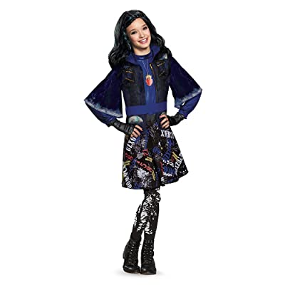 Disguise 88116L Evie Isle Of The Lost Deluxe Costume, Small (4-6x),One Color: Toys & Games