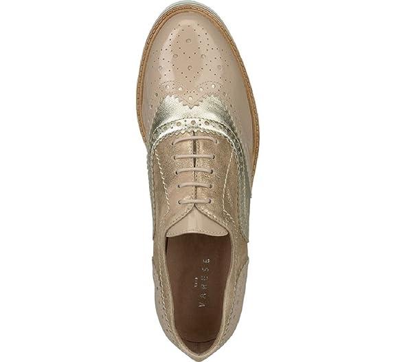VARESE Damen Plateau Schnürer Schuhe: : Schuhe