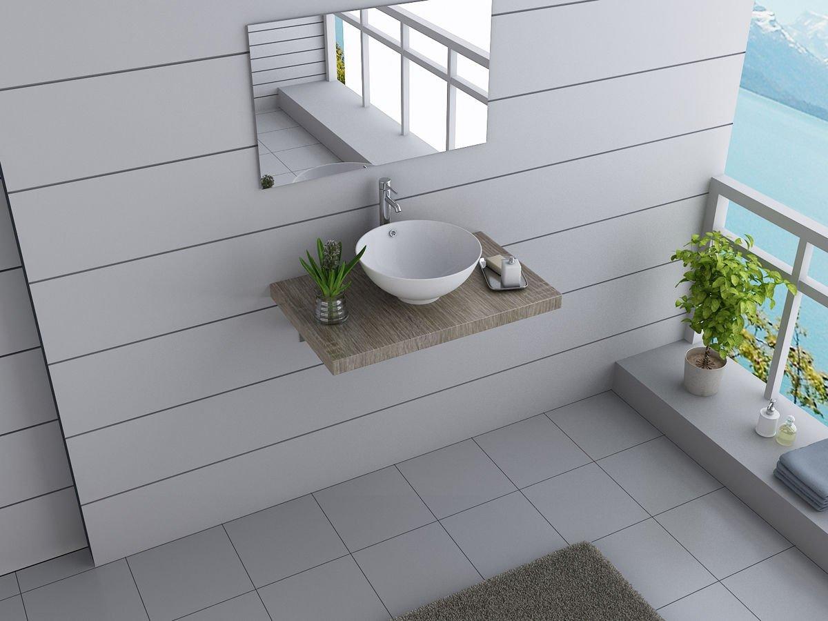 Design Badmöbel design badmöbel set australia brisbane waschtisch 80 cm breit inkl