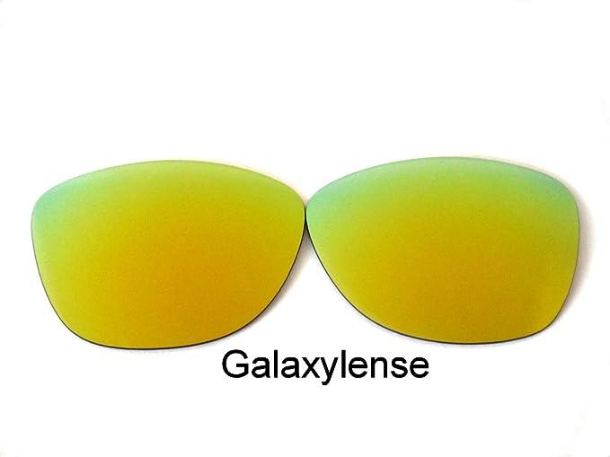 Galaxylense lentes de repuesto para Oakley Frogskins Dorado Color Polarizados,