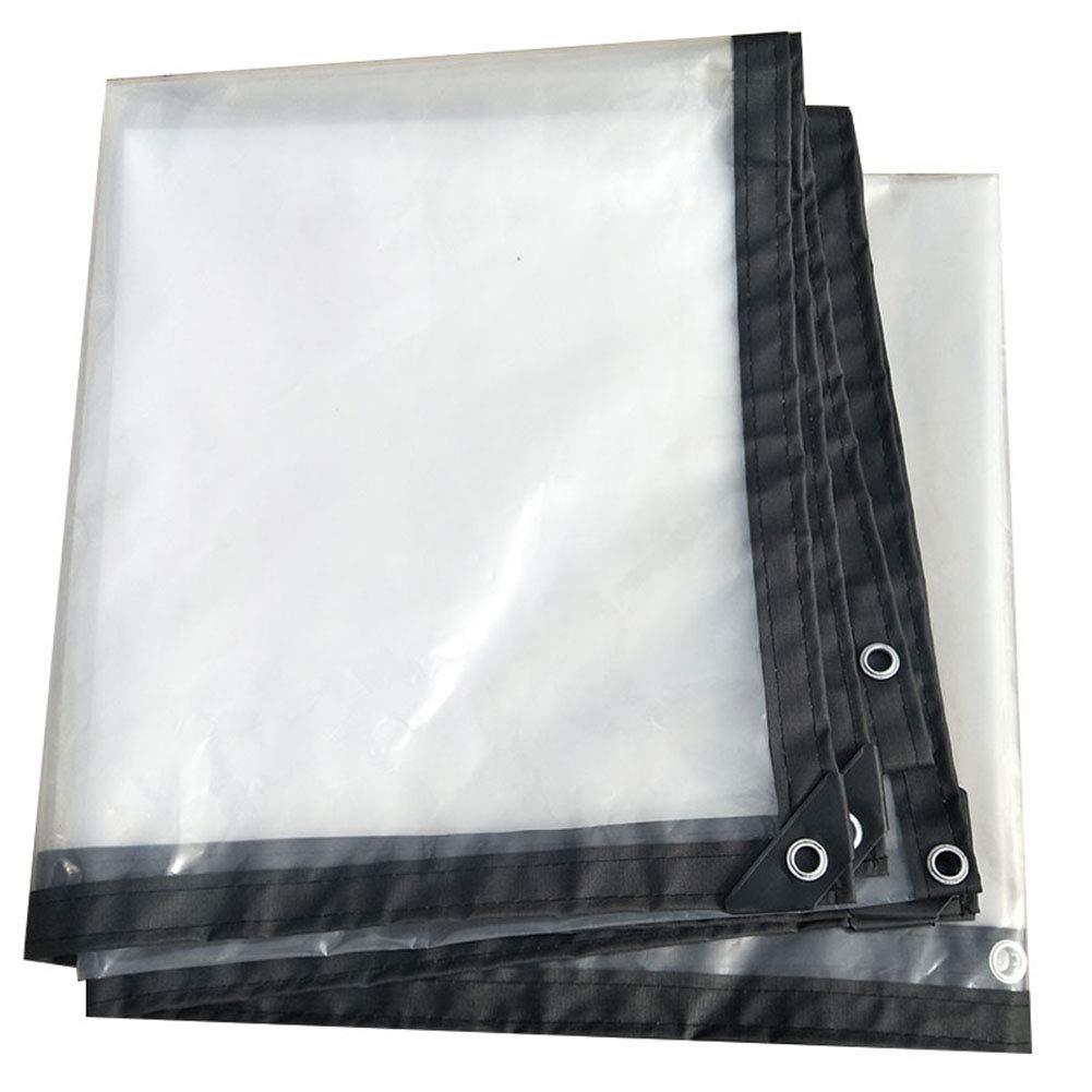 透明な厚い防水シート屋外防水バイザー耐光性耐引裂性作物温室フィルム A_ (サイズ さいず : 5x6m) 5x6m  B07HN5N1QX