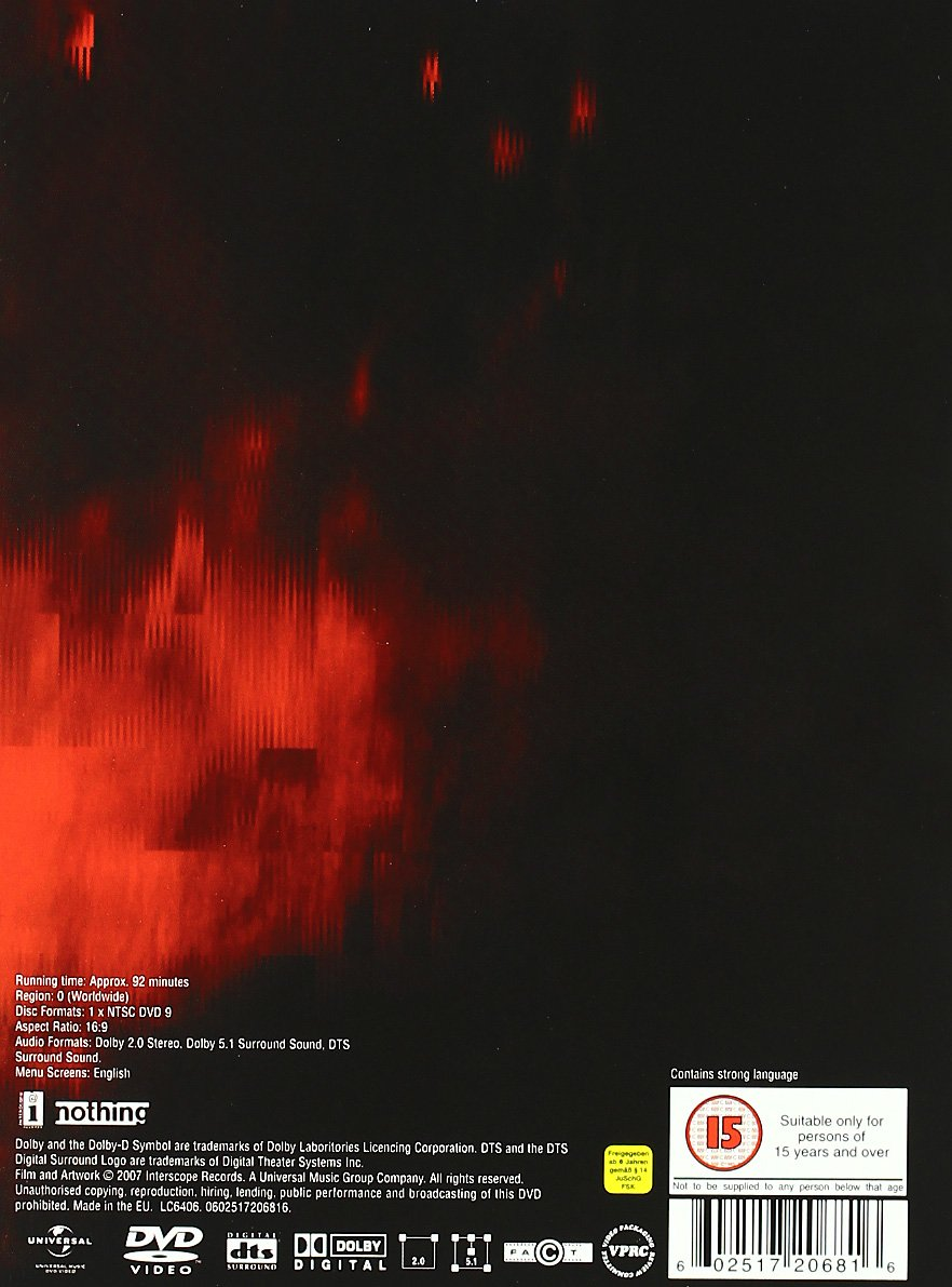 Amazon.com: Nine Inch Nails - Live - Beside You in Time: Nine Inch ...