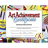 Hayes Art Achievement Certificate Style B, 8-1/2 x 11 Inches, Pack of 30