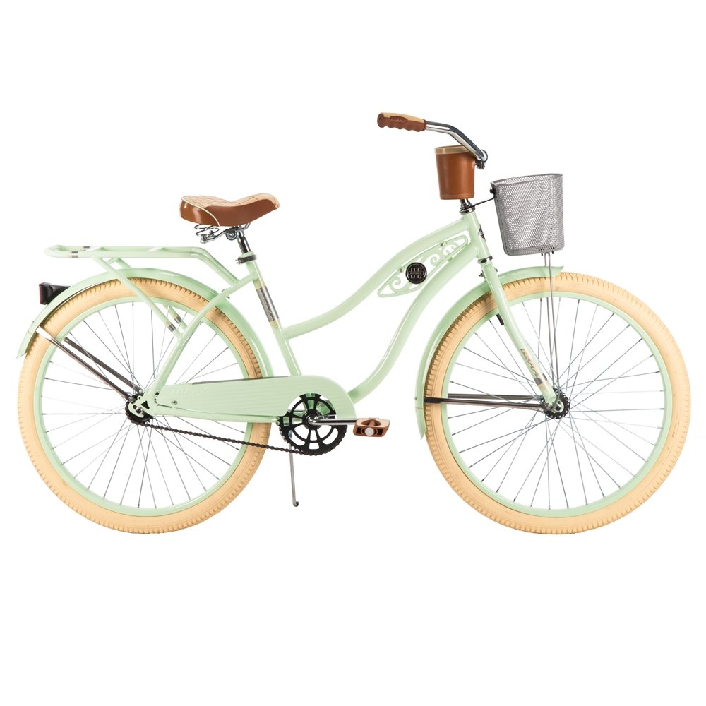 Huffy Women S Deluxe Cruiser Bike Mint Green 26