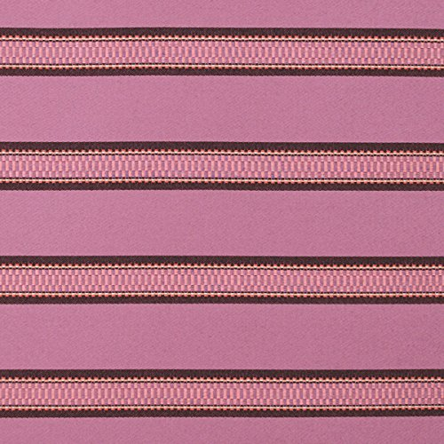 Sunbrella Indoor/Outdoor Colorful Striped Upholstery Fabric by The Yard Brahman Plum by Alaxi